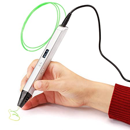 ZHQEUR Pluma de impresión 3D Juego de bolígrafos 3D for niños con ...
