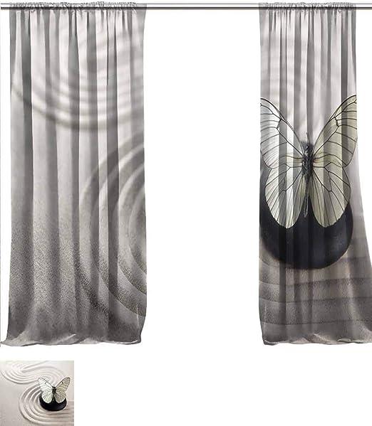 vanfanhome Cortina de Lino Transparente para decoración de ...