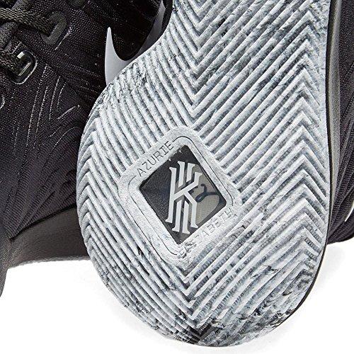 Nike Männer Kyrie 3 Basketball Turnschuhe Schwarz, Weiß-Weiß