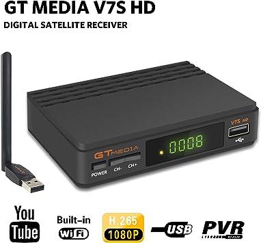 Aoxun DVB-S2 Receptor de satélite FTA DVB-S2 Decodificador de satélite digital Full HD 1080p