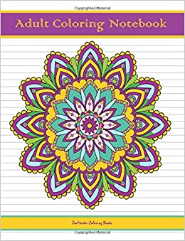 Amazon.com: Adult Coloring Notebook: Notebook for Writing ...