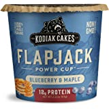 Kodiak Cakes Protein Pancake Flapjack Cup, Blueberry and Maple, 2.16 Ounce (Pack of 12)