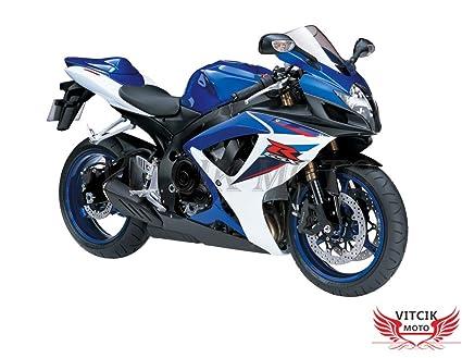 VITCIK Calcomanías para Motos, Adhesivo para Moto GSX-R750 ...