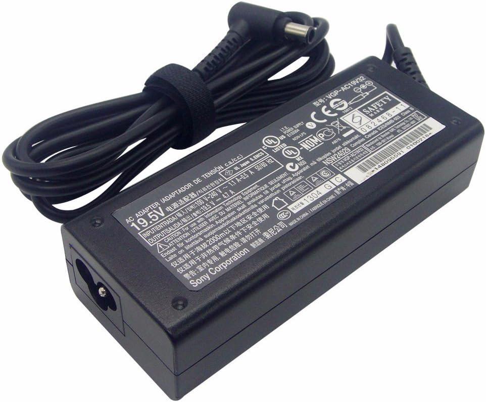 Original 19.5V 4.7A Genuine Laptop AC Adapter for Sony VAIO VGP-AC19V32 VGP-AC19V36 VGP-AC19V42 Charger