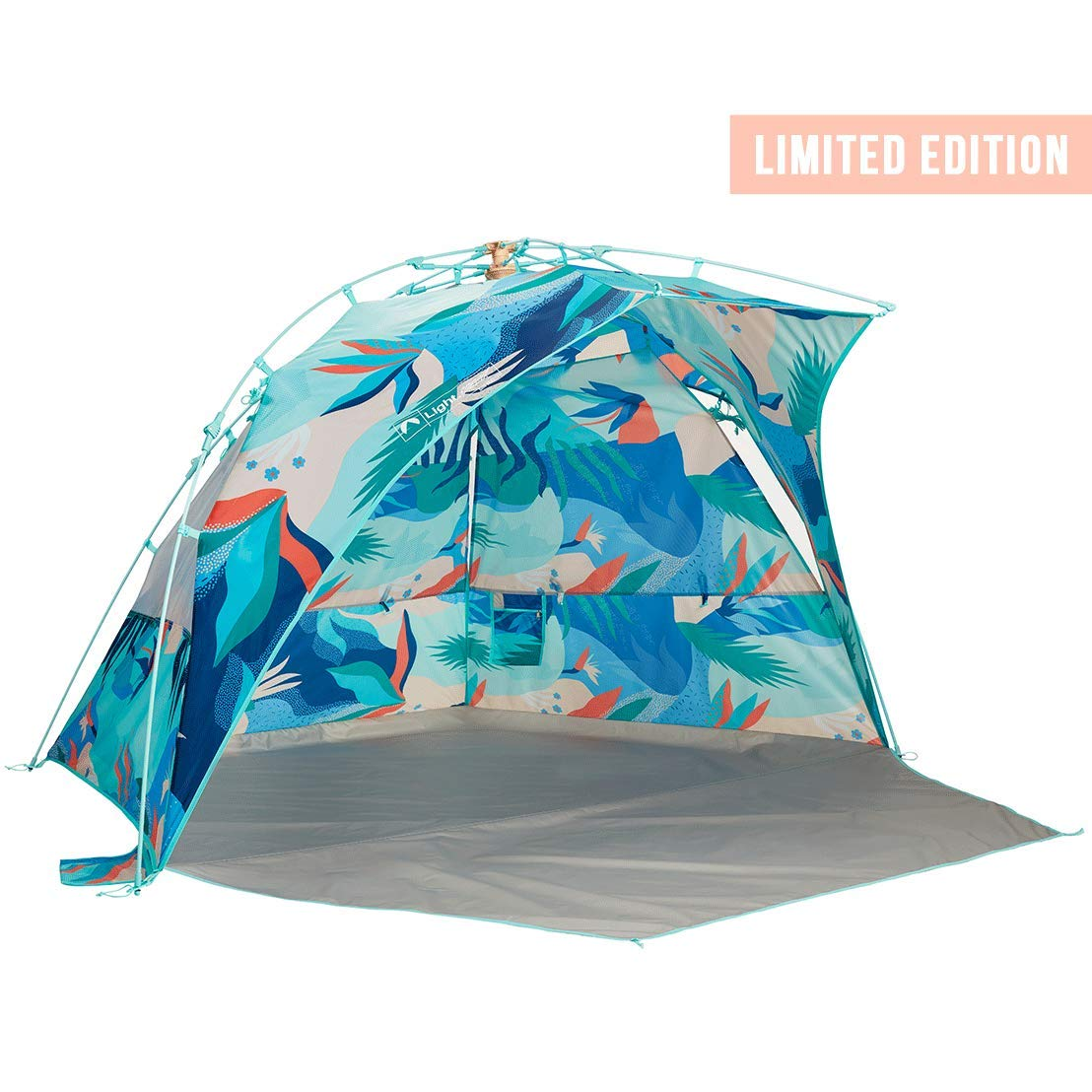 Lightspeed Outdoors Sun Shelter with Clip-Up Privacy Feature (Limited Edition | Glorious Print) by Lightspeed Outdoors