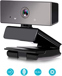 Beauta HD 1080P Webcam with Microphone for Laptop Desktop PC Mac or Notebook, HD Web Camera for Meeting, YouTube, Skype, FaceTime Hangouts, Widescreen Video Calling and Recording