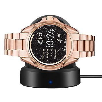 Ceston Cargador Charger para Smartwatch Michael Kors Bradshaw (Negro)