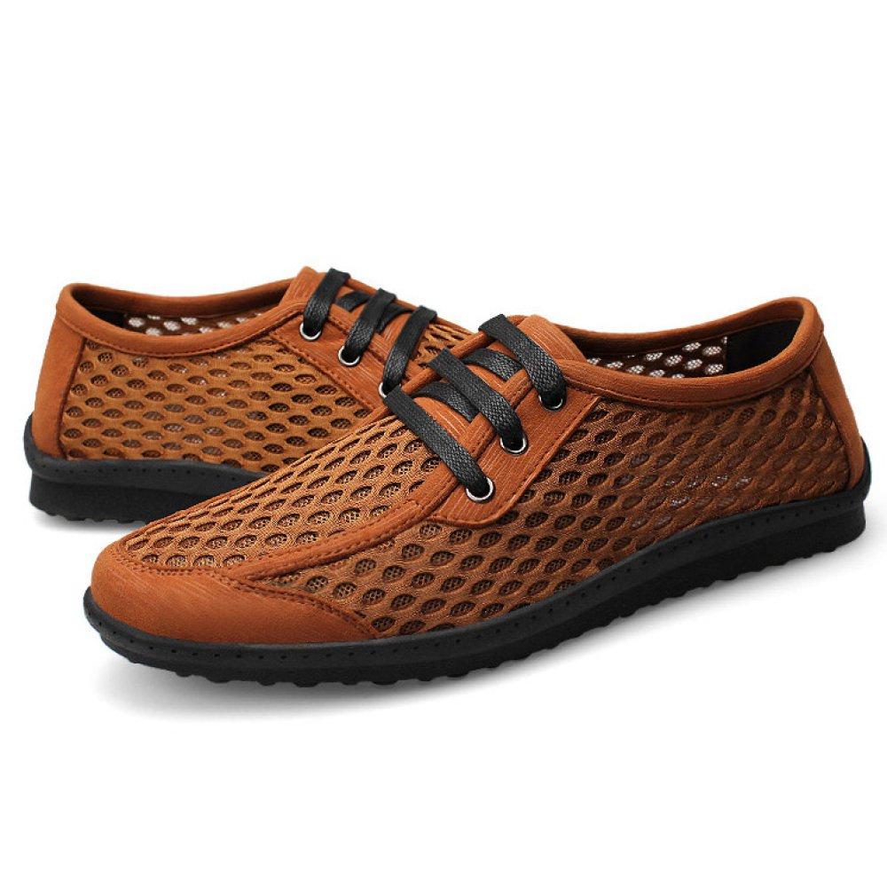 ... Sommer beiläufige Schuhe der Männer Schuhe Flache Maschen Breathable  Treibende Schuhe Männer Im Freien Gehende Wandernde ... ab0a745a05