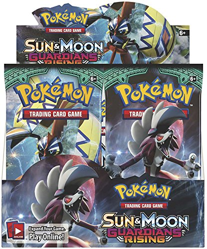 Pokemon Sun & Moon Guardians Rising Booster Box (36 Packs) Sealed by Pokemon