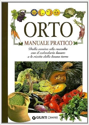Calendario Semina E Raccolta Ortaggi.Amazon It Orto Manuale Pratico Giuseppe Rama Libri