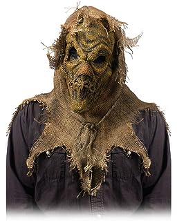 Fishyu Halloween Horror Adulto Espantapájaros Máscara Arpillera ...