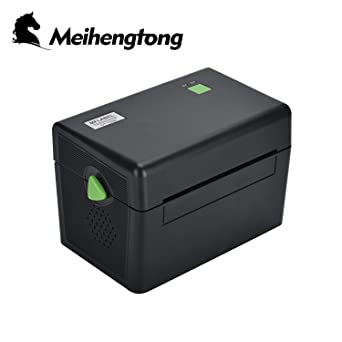 Impresora Térmica de Etiquetas for Windows, Meihengtong Label Maker with USB Port Label Printer 4x6 for Shipping, Bar Codes, Compatible with ...