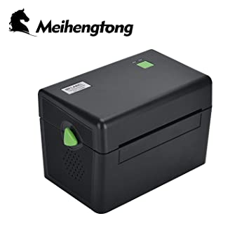 Impresora Térmica de Etiquetas for Windows, Meihengtong Label Maker with USB Port Label Printer 4x6 for Shipping, Bar Codes, Compatible with ...