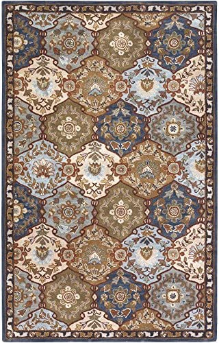 Surya CAE-1032 Caesar Blue 9-Feet by 12-Feet Area Rug