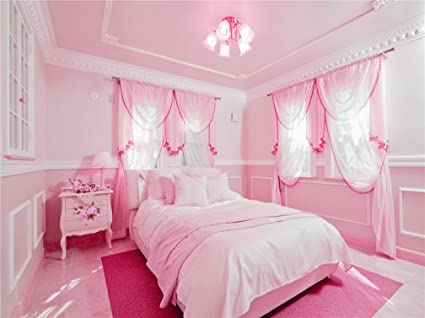 Amazon.com : Pink Bedroom for Princess Photography ...