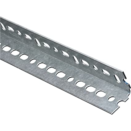 national hardware 4020bc slotted steel angle 1 1 2 by 48 inch
