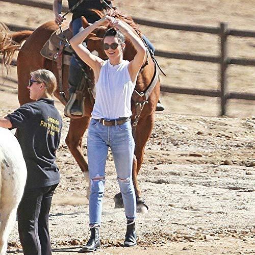 Boyfriend Per Nappa Donna Jeans 25 Moda Wasit Vintage Buco 28 Con Strappati Alto Donna Smanicati Donn Rlwfjxh O7nq1wSq