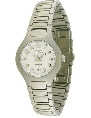 Sandoz 81208-00 Reloj de Mujer Brazalete Cuarzo Suizo: Amazon.es: Relojes
