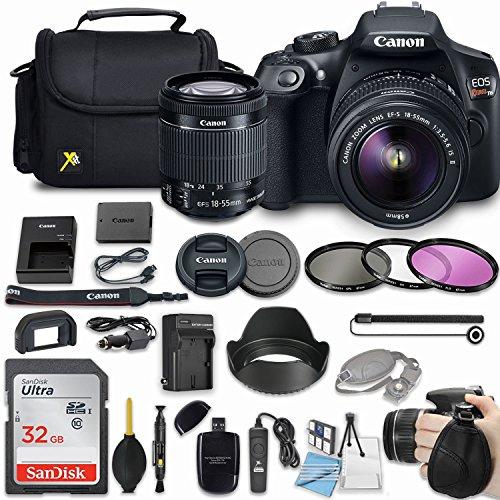 Canon EOS Rebel T6 18MP DSLR Camera Bundle with Canon EF-S 1