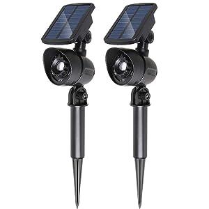 Sunba Youth Outdoor Solar Spotlights