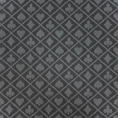 108 X 60 Inch Full Size Poker Table Suited Speed Waterproof Cloth Grey Color (Speed Cloth Poker)