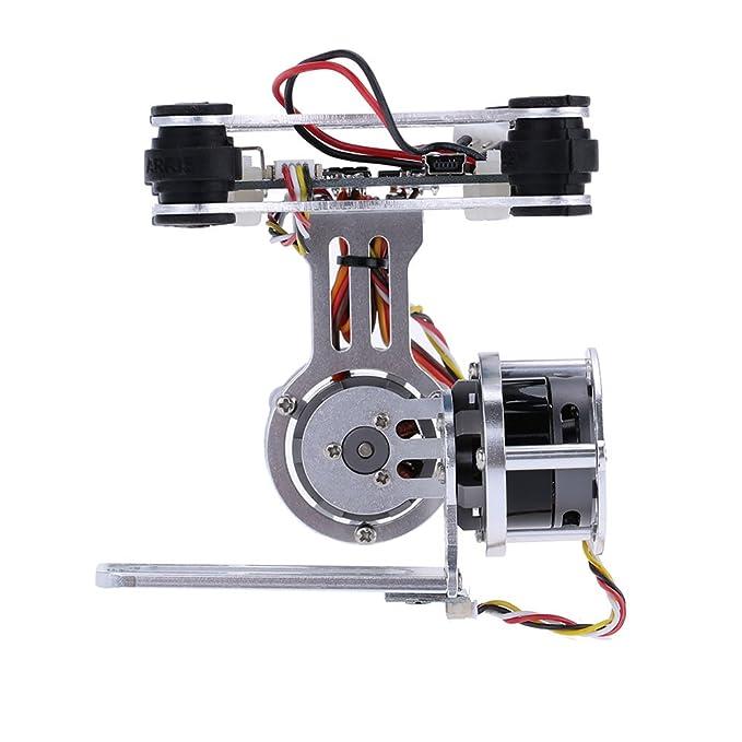 GoolRC 2D Light Weight Silver Brushless Motor Gimbal for DJI Phantom on