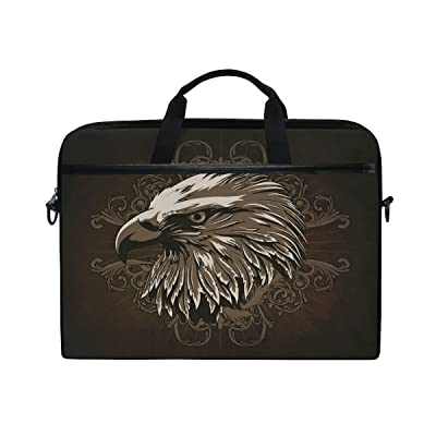 Laptop Computer Cute Eagle Notebook Shoulder Messenger Bag Cases Packs for Women Men (15-15.4 in) durable service
