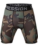 Healths Men's Compression Shorts Camouflage