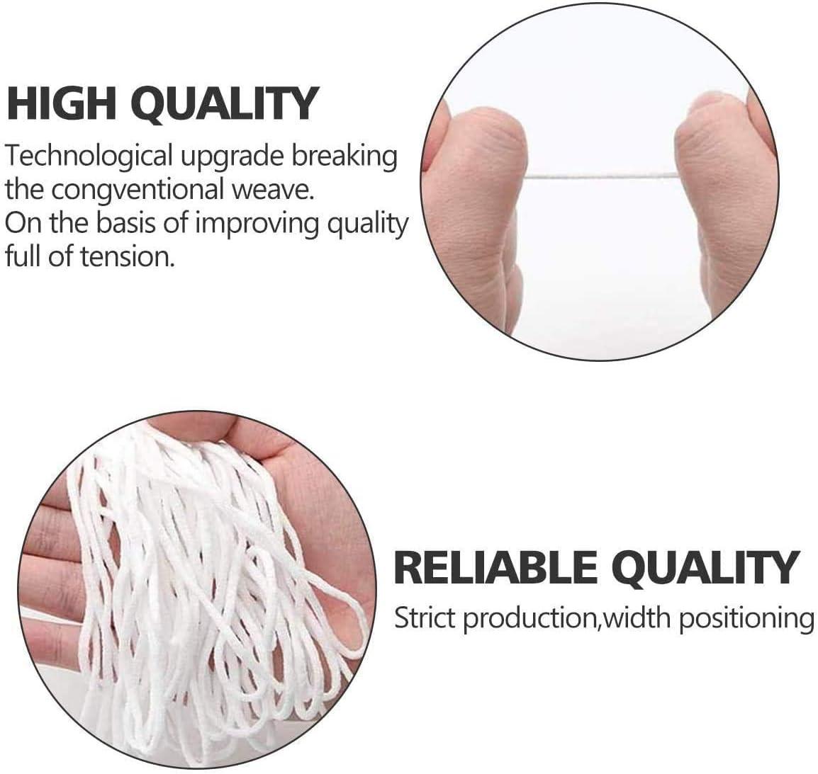 Elastic Cord for Sewing ATORX 1//4 inch Elastic Cord 10 Yard 10m 4mm Elastic Rope Heavy Stretch High Elasticity for Sewing Stretch Craft DIY