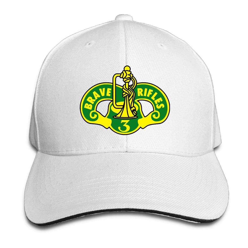 Madoling 3rd Cavalry Regiment Brave Rifles Sandwich Hat Baseball Cap Dad Hat