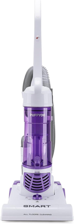 PUPPYOO Lightweight Bagless Upright Vacuum Cleaner 1200W