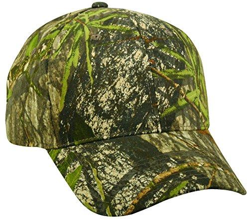 Mossy Oakblank Camo Cap, Adjustable Plastic Snap ()