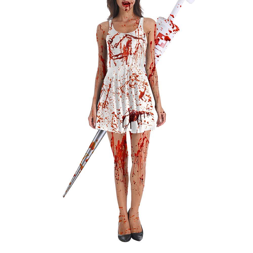 Disfraz de Enfermera de Zombie para niñas Traje de Cosplay ...