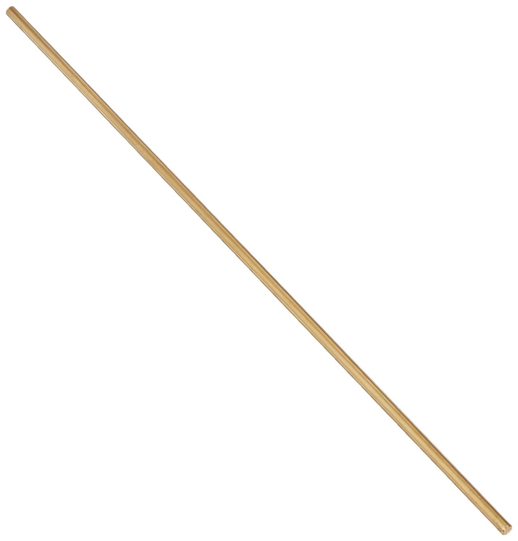 Lathe 200mm x 3mm Brass Axle Round Stock Drill Rod Bar 10Pcs