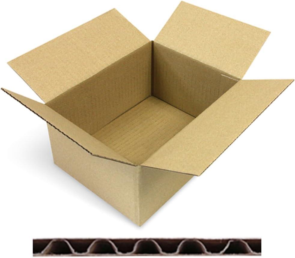 1-Wellig verpacking 100 Faltkartons Versandkartons DHL Kartons 150 x 150 x 80 mm KK-05