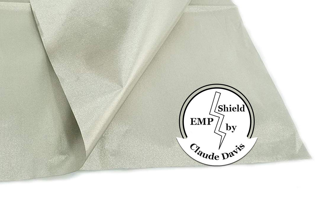 EMP Cloth:180'' by 42.5''.Protect Your Generator Form The Effects of an EMP or CME; RFID Blocking Cloth; EMP Protection Device; EMF Shielding; Power Generator Protection; Military Grade EMP Protection;