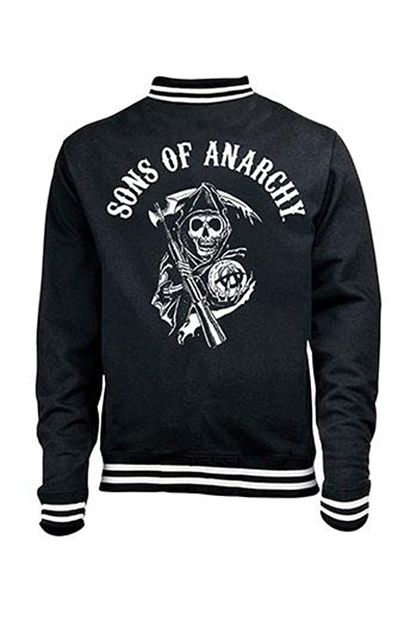 Sons of Anarchy - Chaqueta - para hombre negro large: Amazon ...