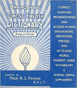 Bhargava Hindi To English Dictionary Pdf