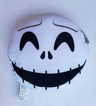 Cojín Redondo con diseño de Emoticono de Jack Skellington ...