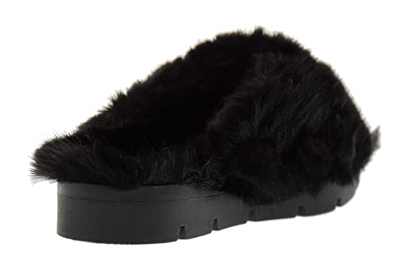 buy popular ca9f8 c8e53 Vans Chaussures Atwood Low Flocked VZUOK3F Vans OVYE chaussures pantoufles  femmes ROSSANA Pilosité taille 40 BLACK ...