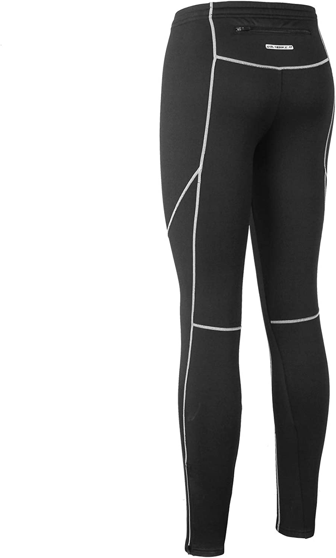 Negro,M Medias Pantalon Compresi/ón para Gym Correr Running Fitness Entrenamiento Ciclismo Baloncesto INBIKE Leggings Mallas Compresi/ón Termicas Largas Deporte para Hombre