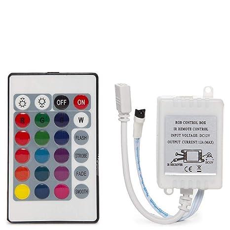 Greenice   Controlador Mando a Distancia RGB Serie Brico IP25