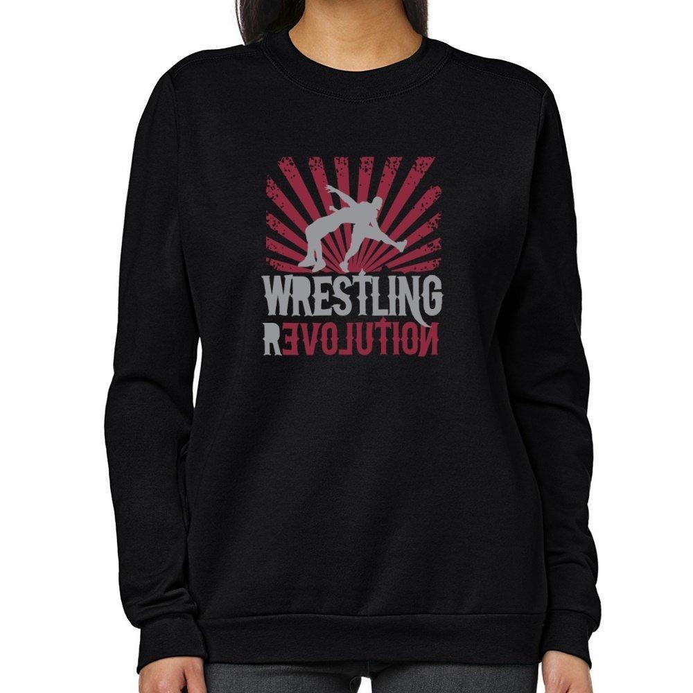 Teeburon Wrestling REVOLUTION Women Sweatshirt by Teeburon