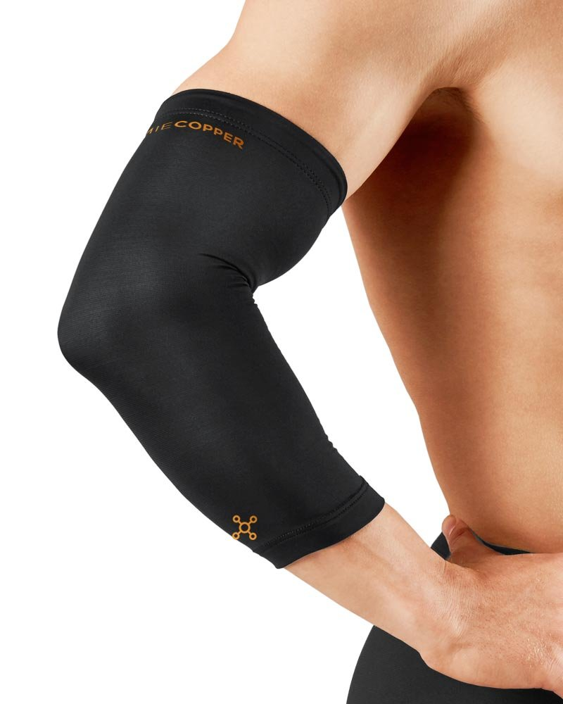 Tommie Copper  Recovery Vantage Elbow Sleeve, Black, Medium by Tommie Copper