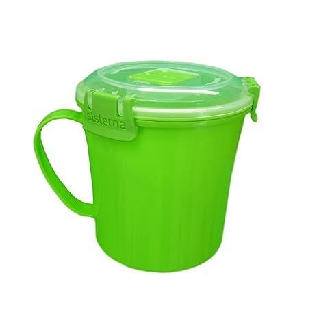 Amazon.com: Sistema verde lima Klip It microondas taza de ...