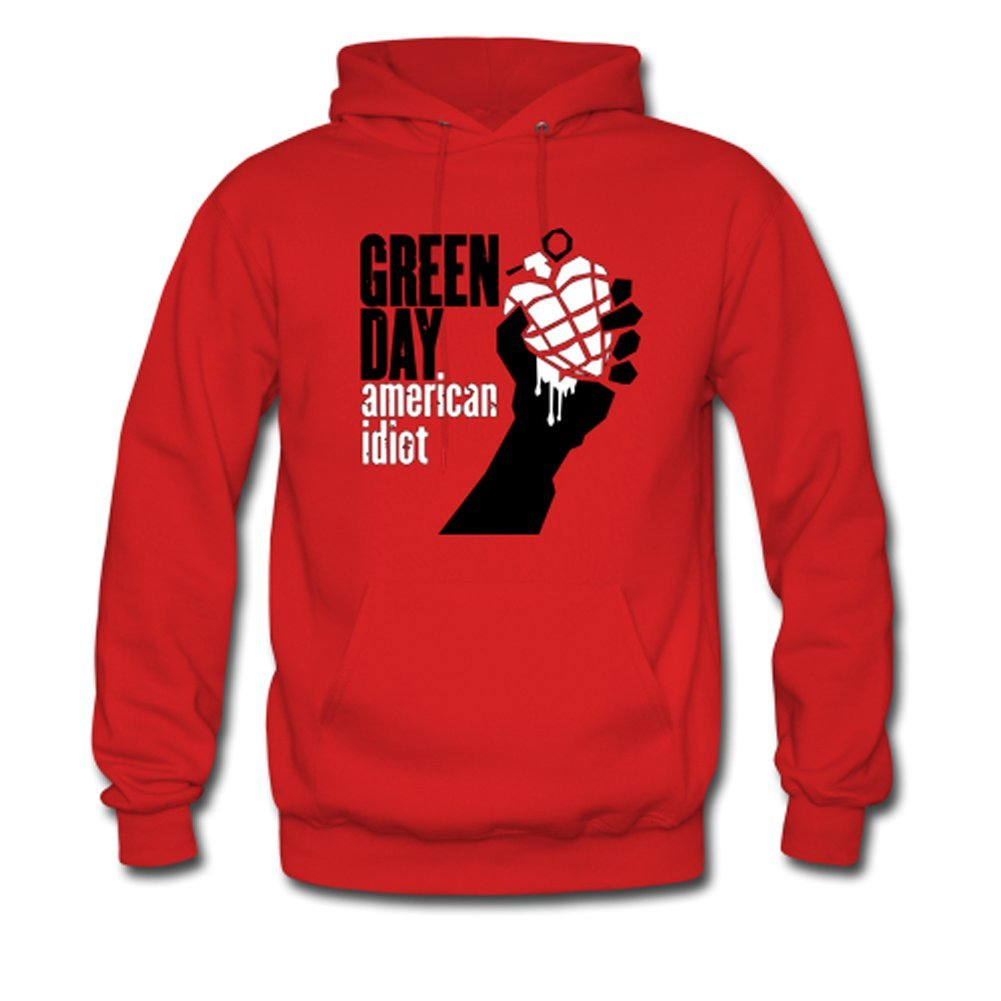 Green Day American Idiot Custom Men's Hoody Hoodie Sweatshirt Sweater