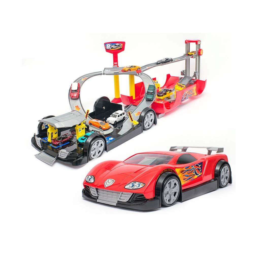 HXGL-鉄道車のおもちゃ 子供の電気トラックレーシング玩具リモートコントロールカー大型スーツ6歳男の子ギフト (サイズ さいず : L l) L l  B07M84C9CP