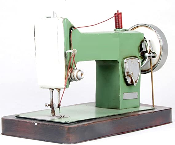 LD&P Retro a la antigua moda máquina de coser plana coche modelo ...
