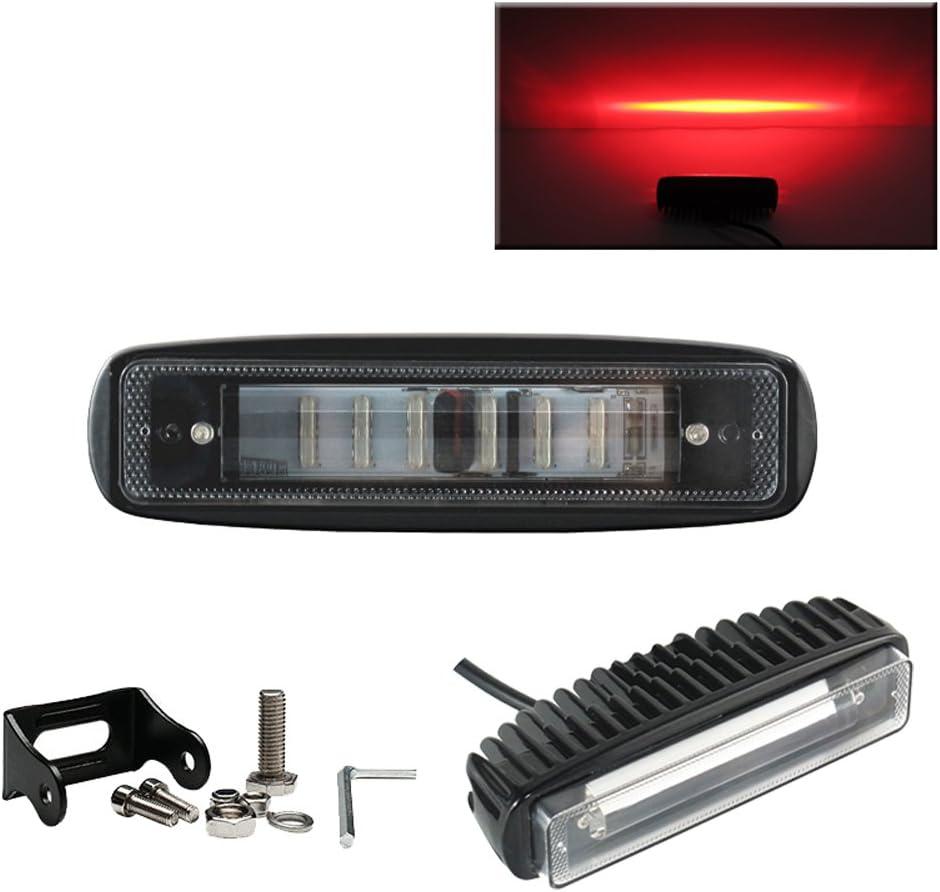 """2x 6/""""Inch 30W Led Work Light Bar Spot Lamp For Offroad ATV SUV Fog Truck 4WD 12V"""