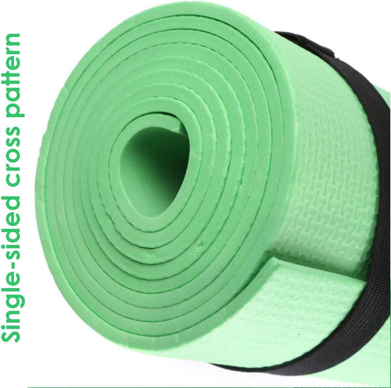 Gojiny Tapis de Yoga Eva Tapis de Fitness Antid/érapant Entra/înement Exercice Gym Pilates Accessoire de M/éditation Outil
